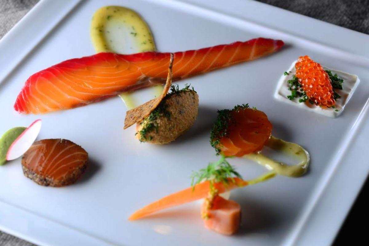 Fiskerestaurant inspirasjon fra hele verden
